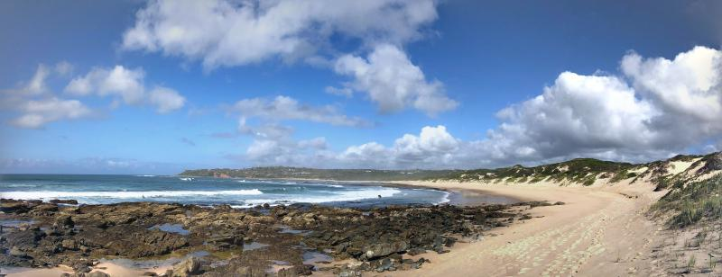 Figure 1: Skulpiesbaai, taken from the halfway-point of a coastal run in Stilbaai.