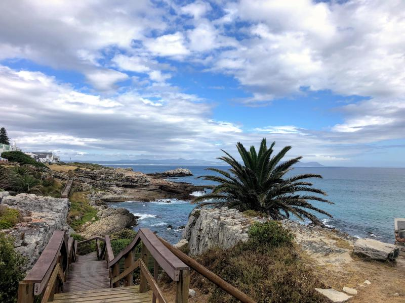 Figure 1: View from a family walk in Hermanus. I was surprised by the beauty here, memories of years ago apparently faded.