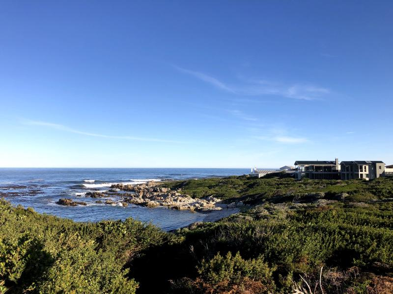 Figure 1: A scene from a short but surprisingly balmy weekend in Betty's Bay (In Winter, a large part of Betty's remains permanently in the shadow of the mountain.)