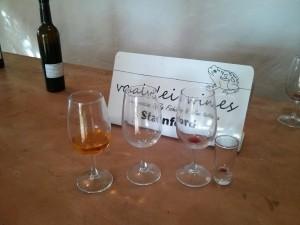 Vaalvlei wine and cognac tasting