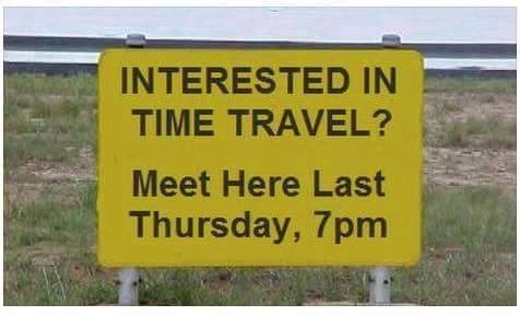 interested in time travel
